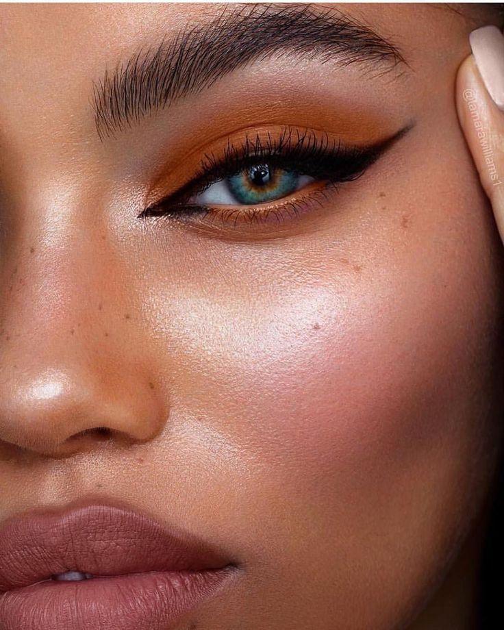 Photo of Anstecknadelbuttons Durch Sharfaa Mohamed auf Make-up im Jahre 2019 kein Eyeliner-Make-up –  …