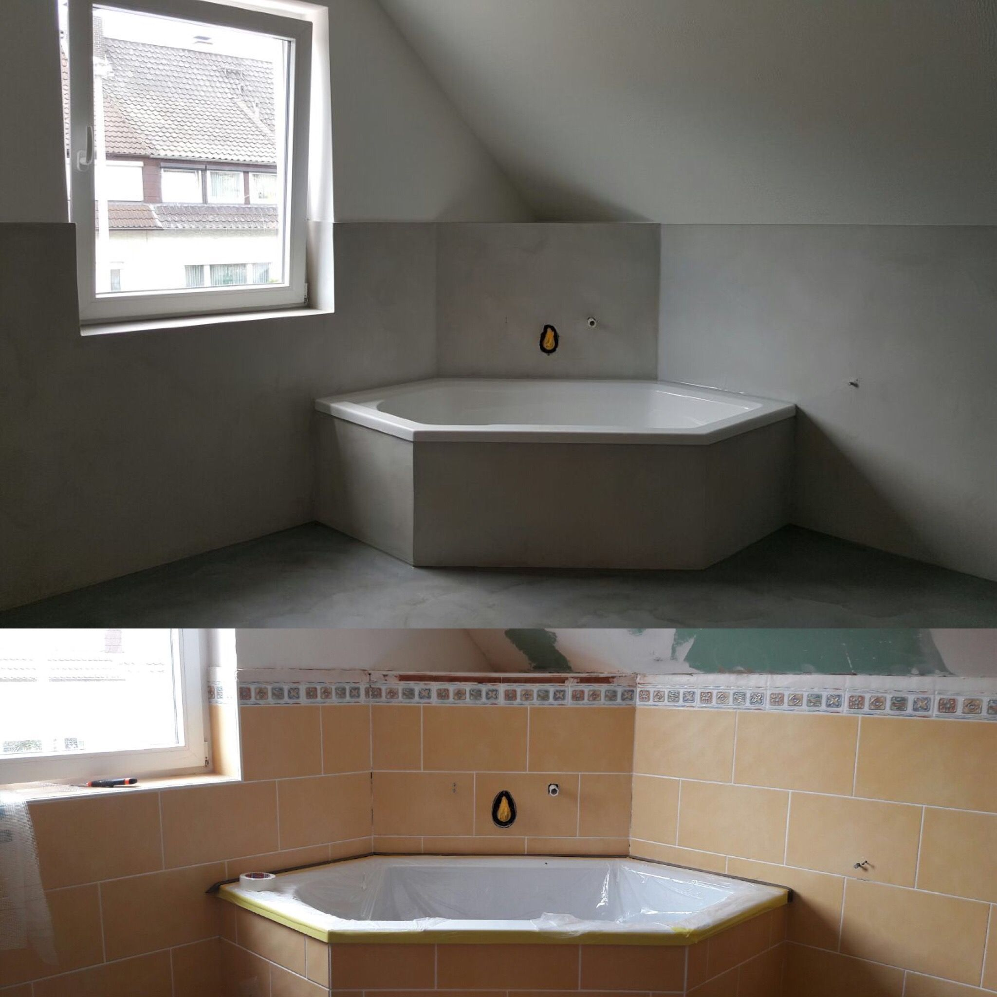 Badezimmer Nassbereich Fugenlosesbad Fugenloserboden Betondesign Hildesheim Gosl In 2020 Beton Design Badezimmer Streichen Fugenloses Bad