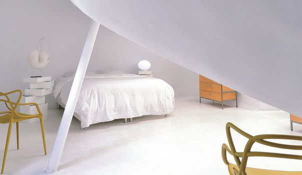 Paris 10 Loft Design Et Futuriste Loft Meuble Laque Blanc Et Decoration Maison