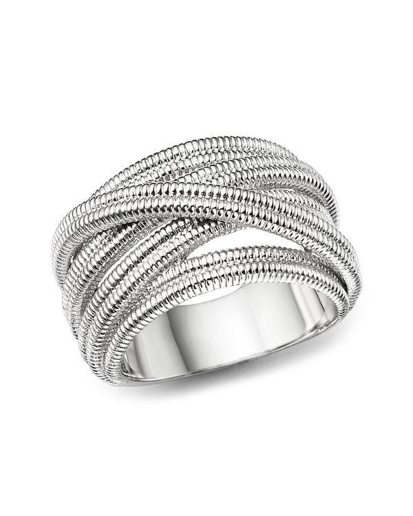 Judith Ripka Multi Band Mercer Wrapover Ring