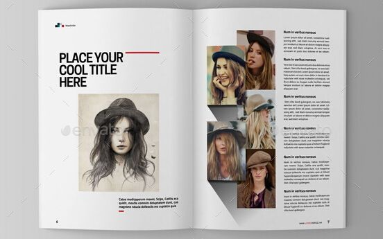 10 Best Art Magazine Templates \u2013 Photoshop PSD and InDesign _