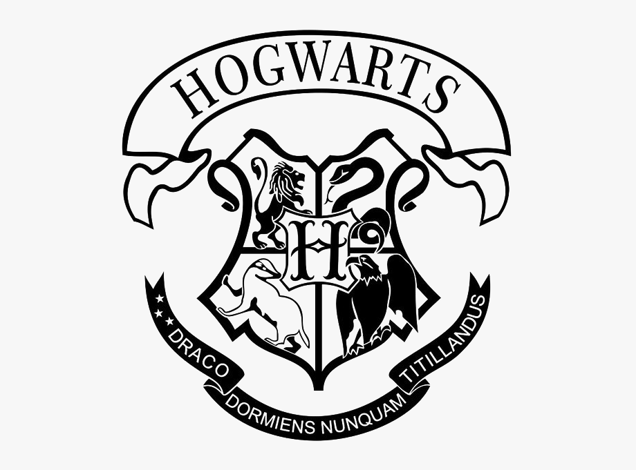hogwarts house crest silhouette Google Search in 2020
