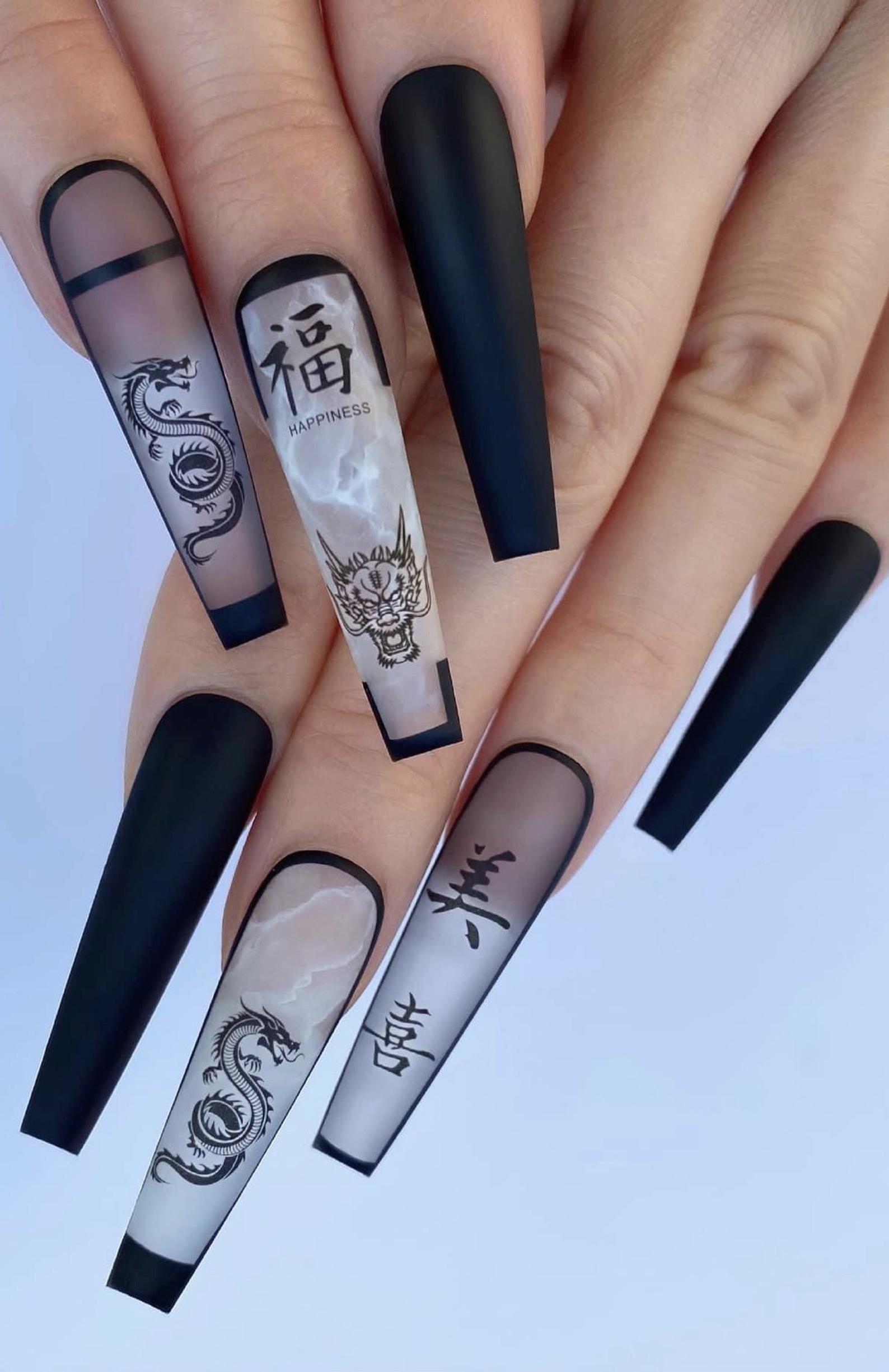 Beautiful Nail Art Stickers 3D Luxury Design
