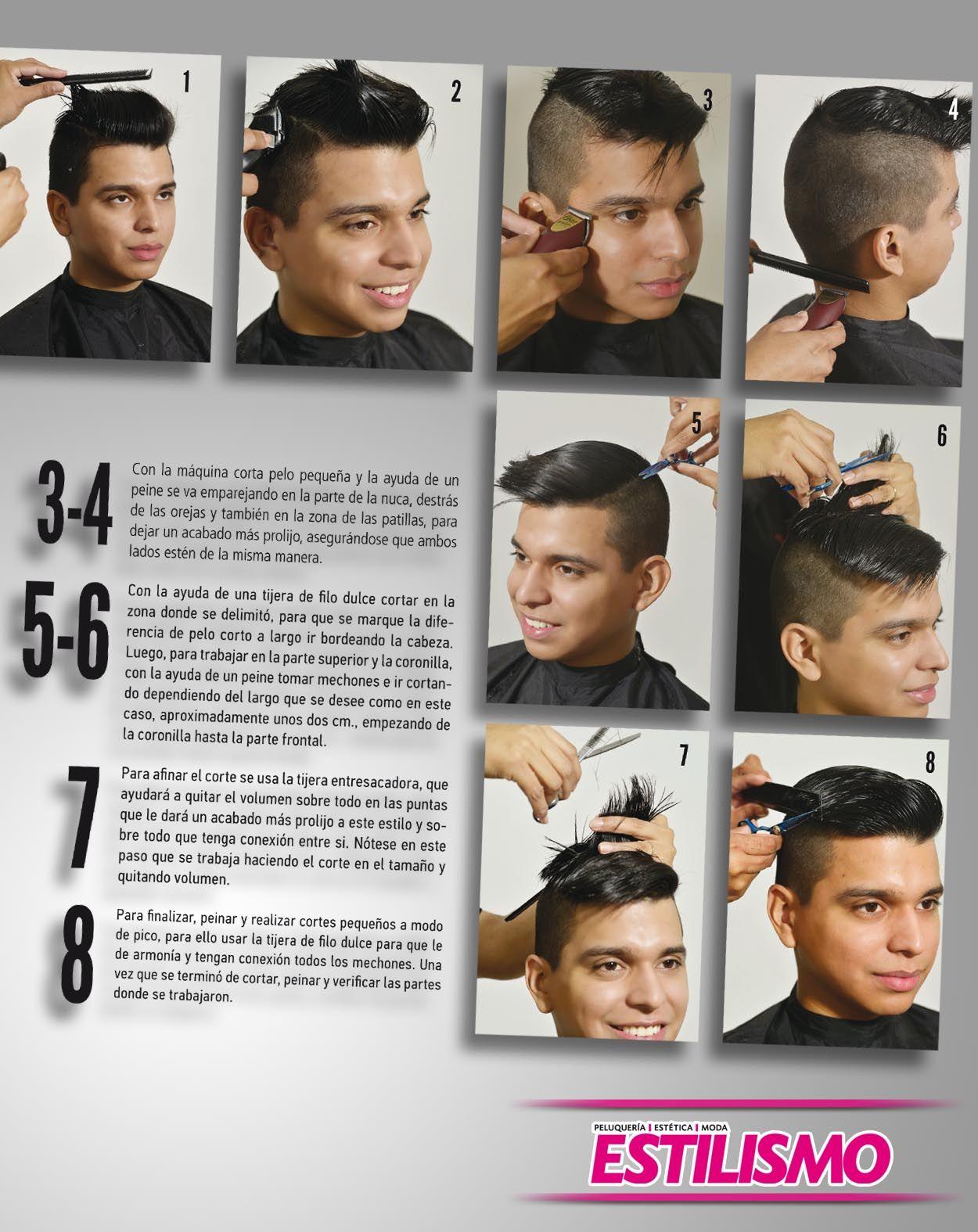 Mens haircut tutorials estilo mohicano un corte audaz  corte hombre  pinterest  hair