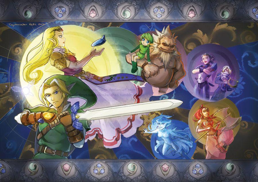 Ocarina of Time by tinysaucepan.deviantart.com on @DeviantArt