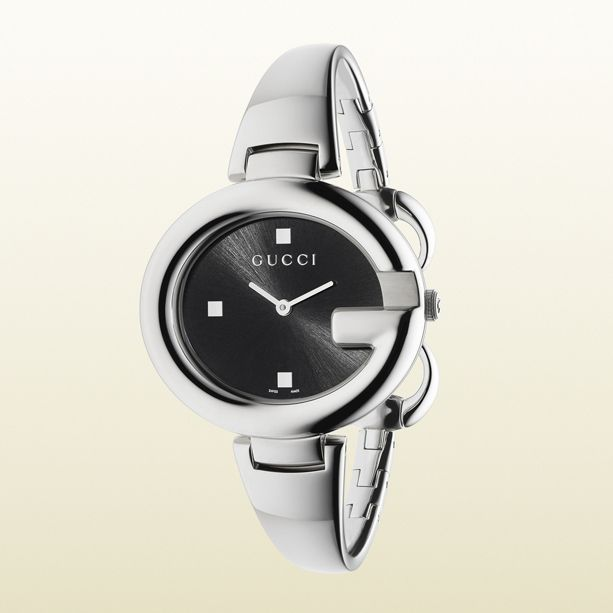 Gucci Watch With Stainless Steel Bracelet Gucci Watch Gucci Watches For Men Stainless Steel Bangles