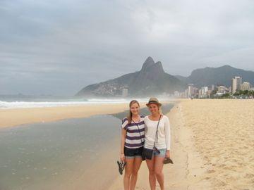 Ipanema Beach in Rio de Janeiro http://www.the-pilots-daughter.com