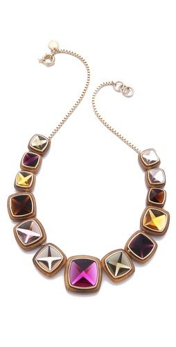 Marc by Marc Jacobs Ice Cubes Stud Necklace
