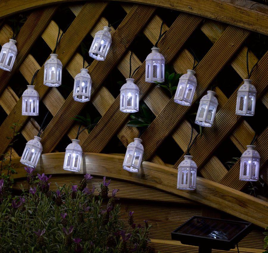 Smart solar moroccan lantern string lights pack of 16 smart smart solar moroccan lantern string lights pack of 16 smart solar aloadofball Choice Image