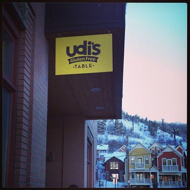 the Udi's Gluten Free Table at Sundance 2013!