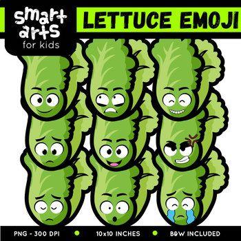 Lettuce Emoji Clip Art Clip Art Emoji Art Art