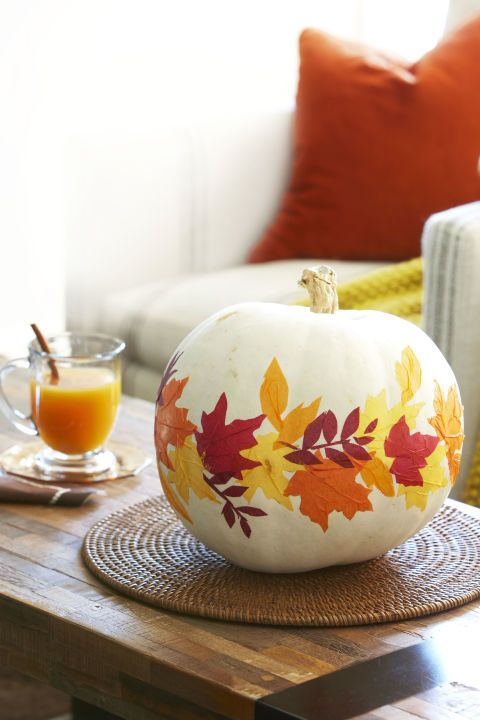 60+ Enchanting Halloween Decorating Ideas Paper leaves, Tissue
