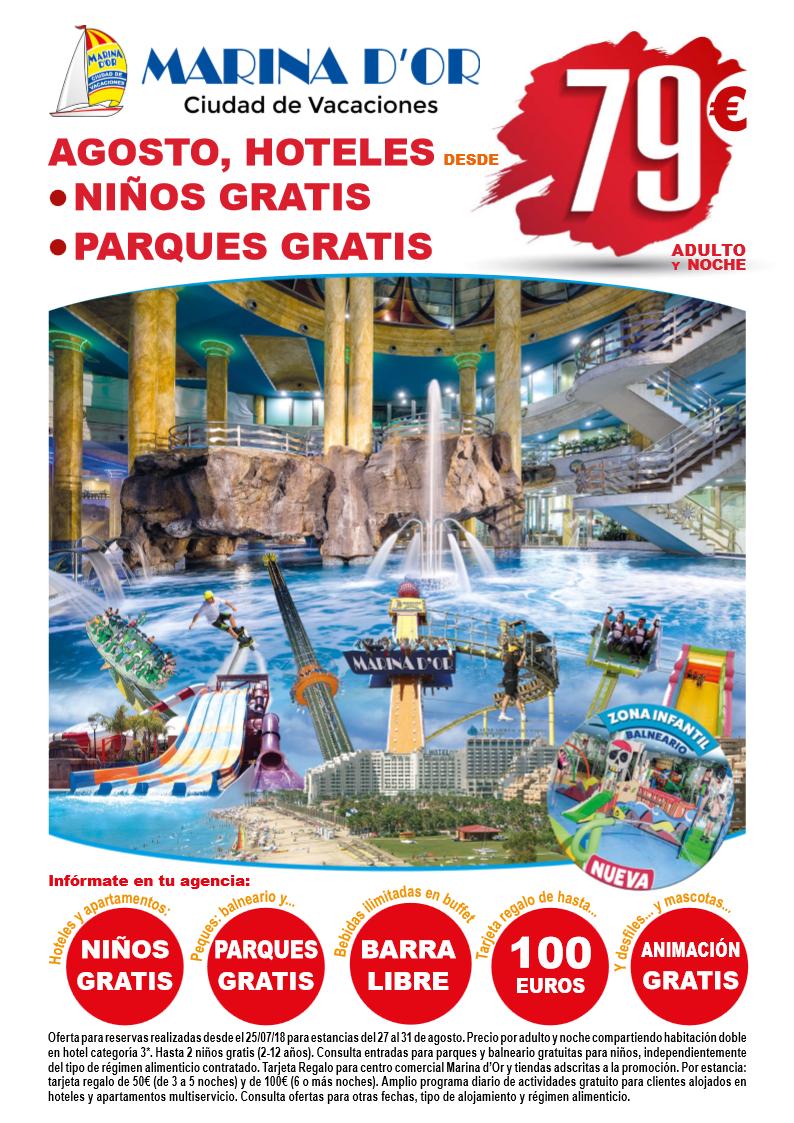 Marina Dor Oropesa Del Mar Castellón Desde Sólo 79 En Agosto Con Niños Gratis Información Condiciones Y Agencia De Viajes Viajes Parques