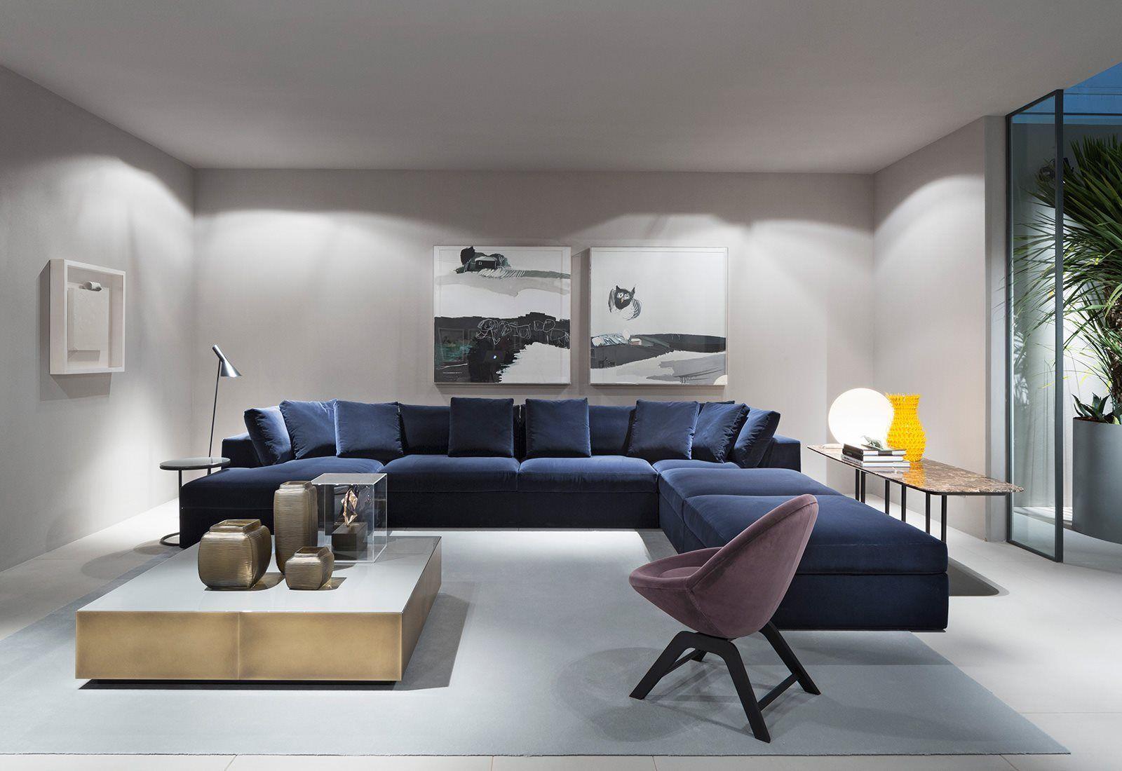 Meridiani Mobili ~ Modular louis small sofa by meridiani furnishings