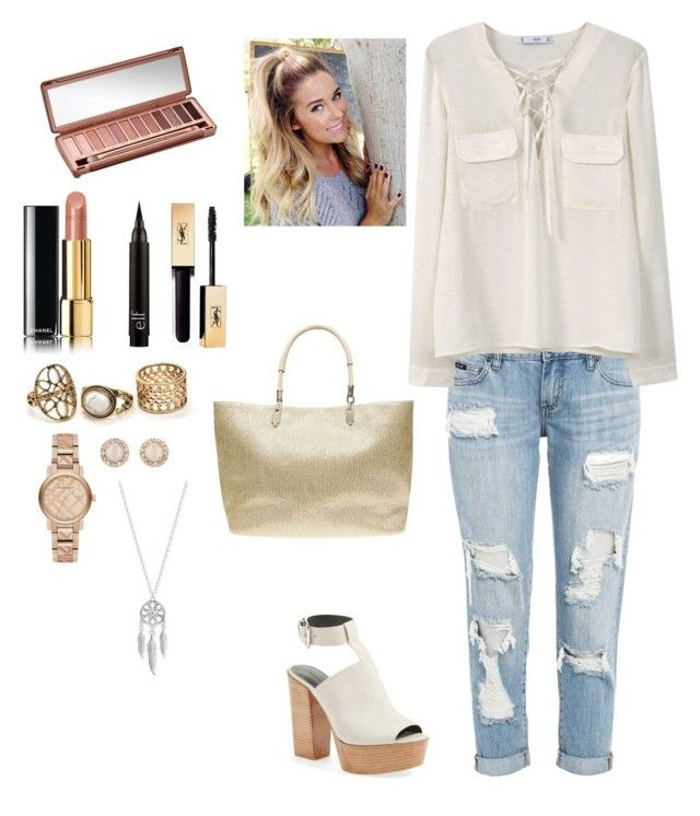 """""""oftd"""" by niiahella on Polyvore featuring Rebecca Minkoff, MANGO, Urban Decay, Chanel, Burberry, Kate Spade, Lucky Brand and Dorothy Perkins"""
