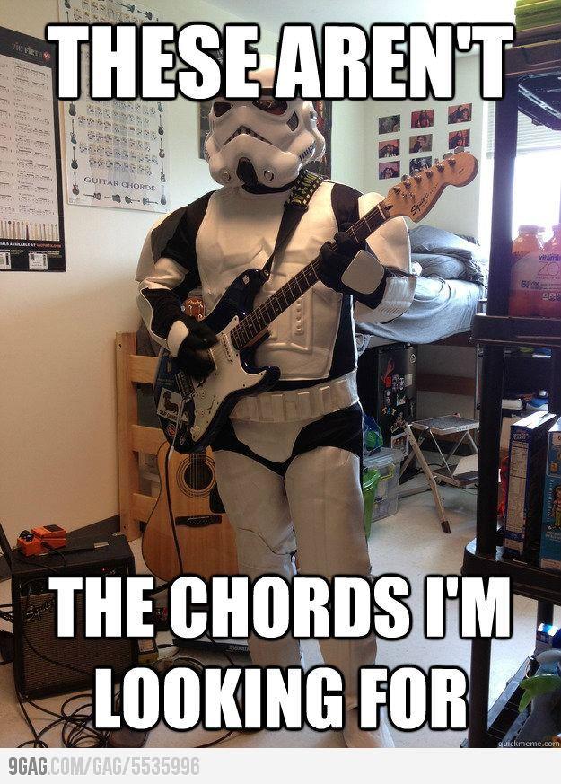 Stormtrooper Guitarist Star Wars Humor Star Wars Parody Star Wars Memes