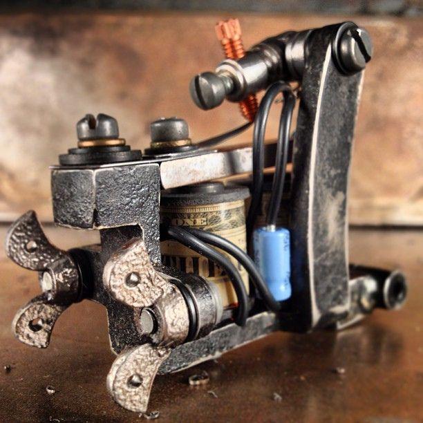 Tattoo Machines: Seth Ciferri Handmade Custom | Workhorse High End ...
