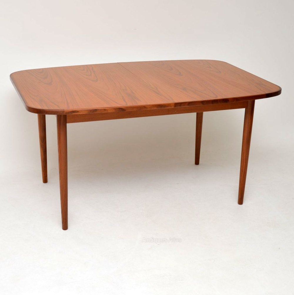 Teak Vintage Extending Dining Table By G Plan Extendable Dining