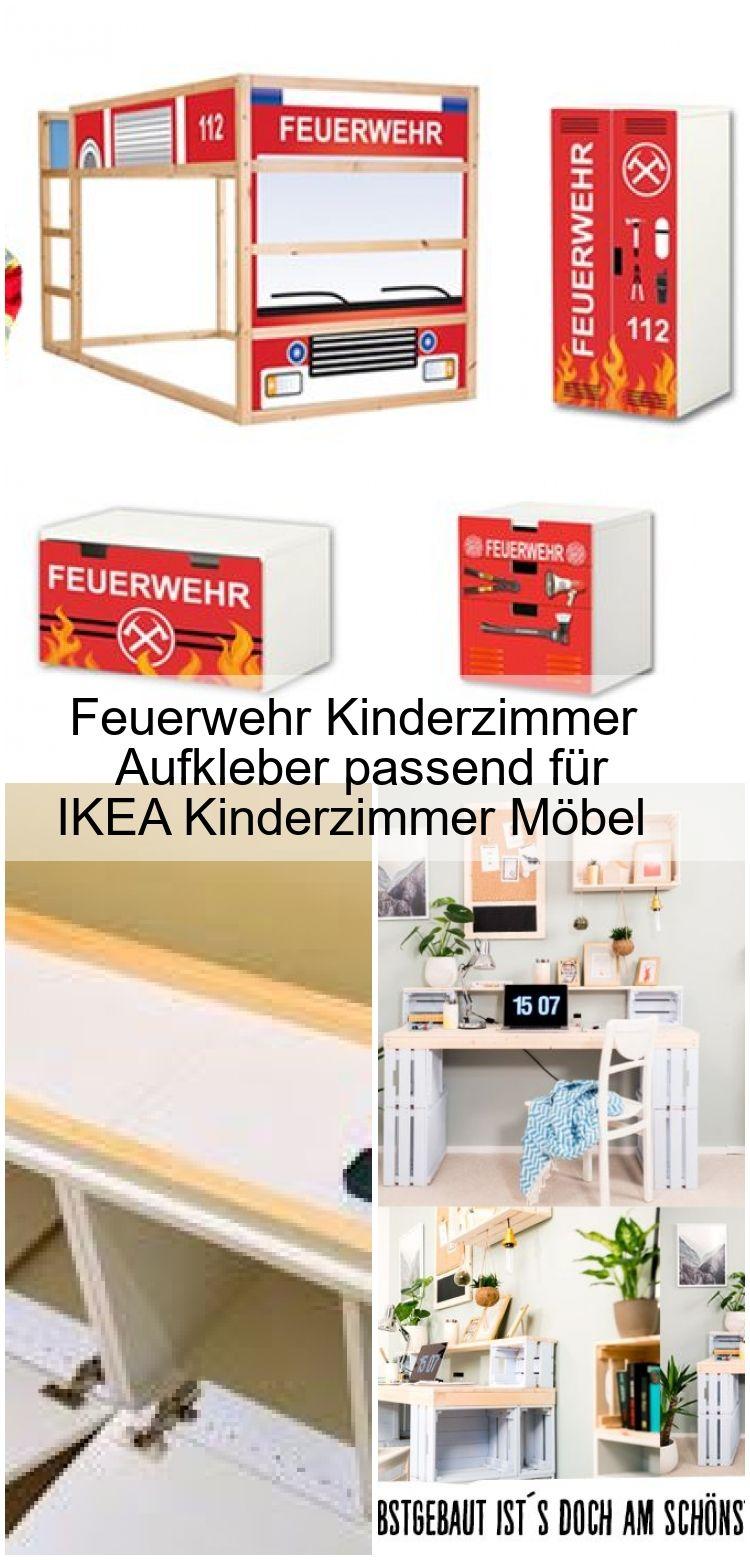 Feuerwehr Kinderzimmer Aufkleber passend für IKEA