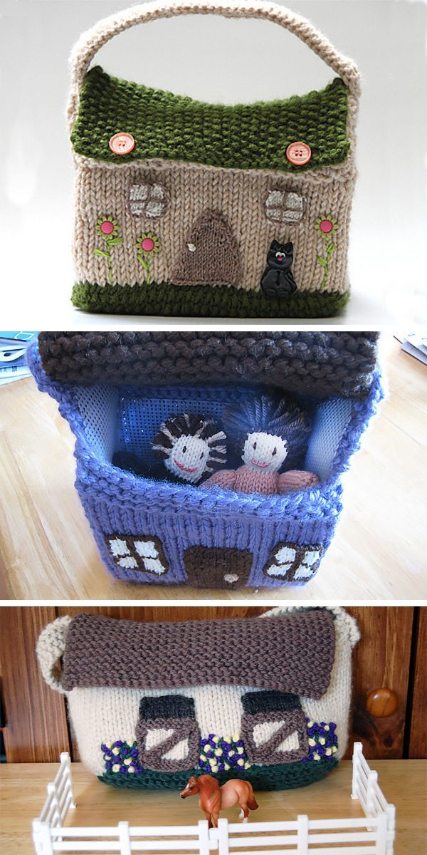 Home Sweet Home Knitting Patterns