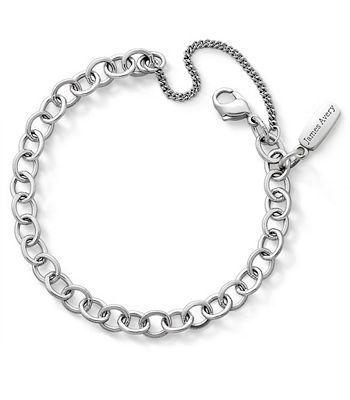Forged Link Charm Bracelet: James Avery