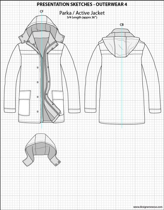Mens illustrator flat fashion sketch templates for Clothing templates for illustrator