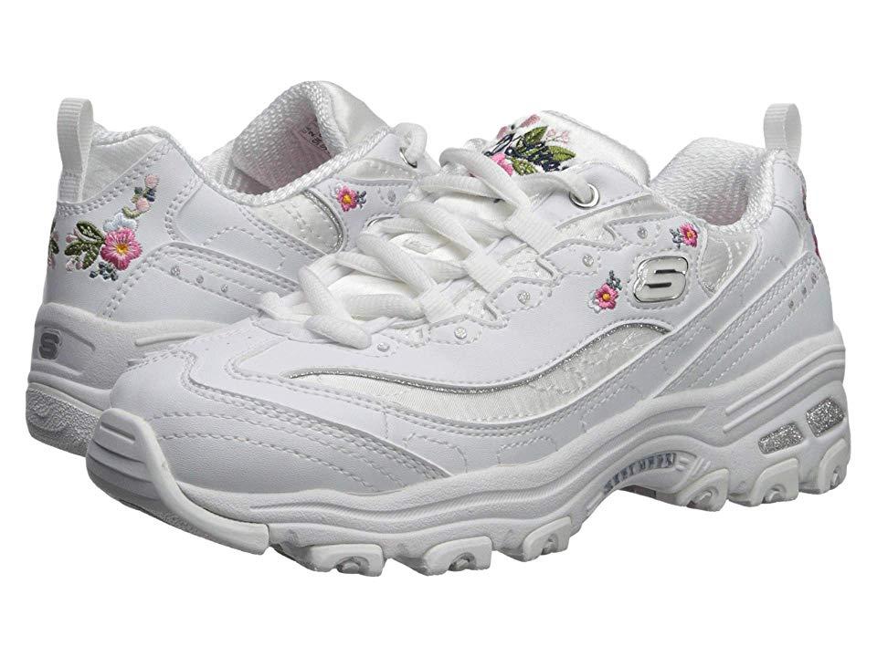 ladies white skechers