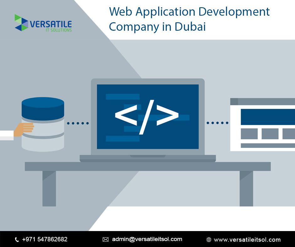 Custom Web Application Development Company In Dubai Web Application Development Web Development Design Development