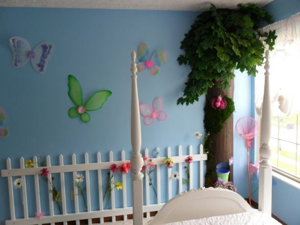 Information About Rate My Space Girls Room Design Butterfly Room Girly Room