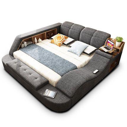 Best Modern Multipurpose Bed Electric Massage Bluetooth 400 x 300