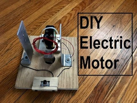 simple homemade electric motor. Simple DIY Electric Motor - YouTube Homemade