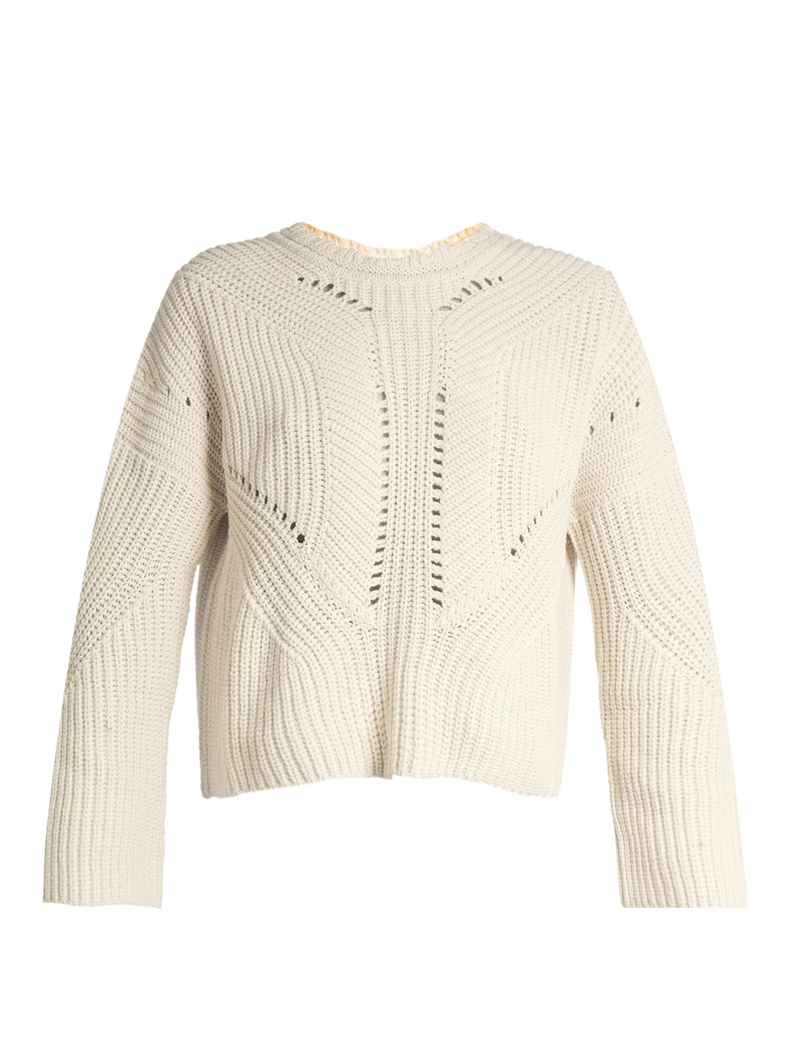 Click here to buy Isabel Marant Grifin lace-up back cotton-blend sweater at  MATCHESFASHION.COM ae8902ac3