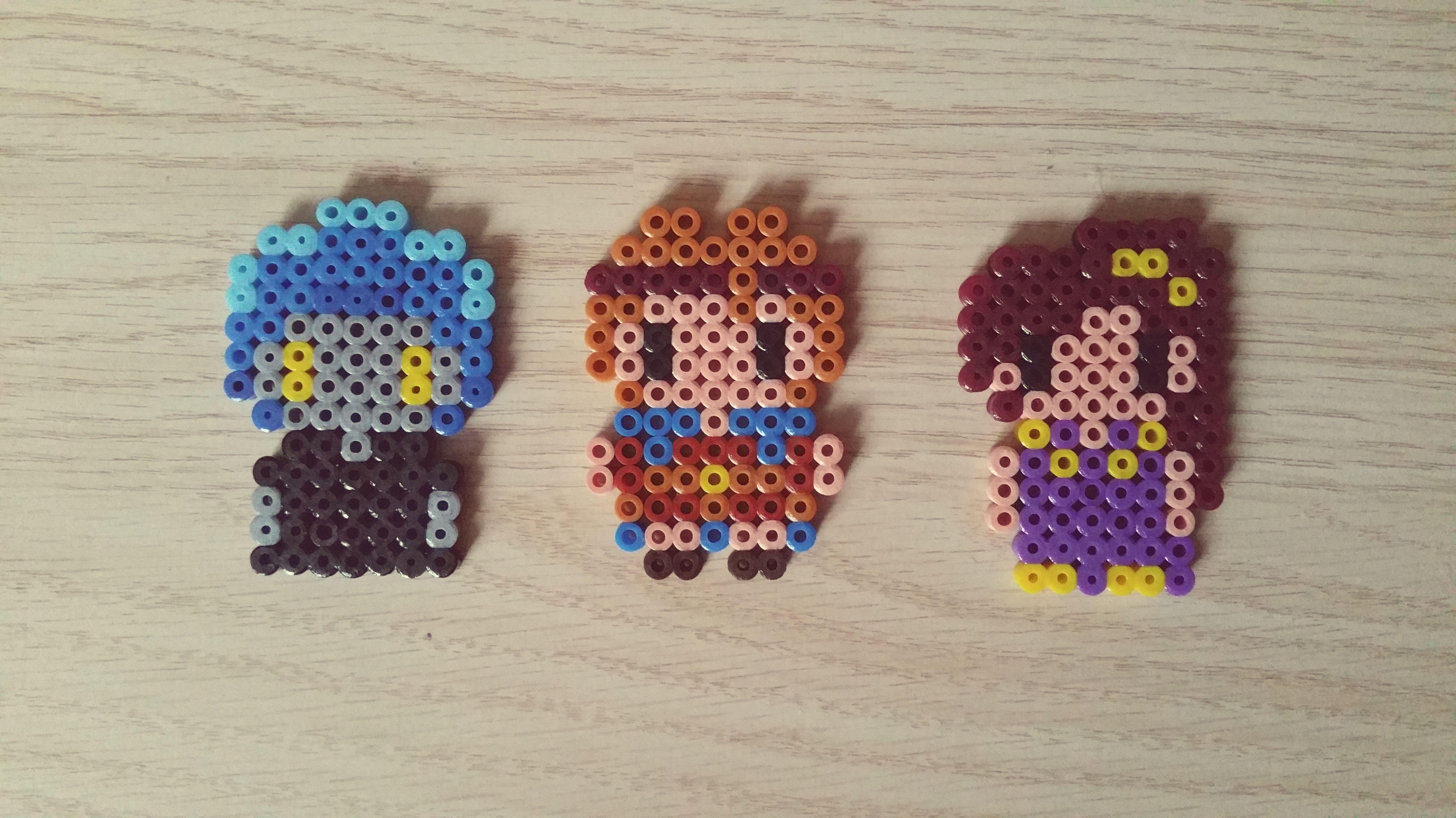 Perler Beads Hercules. Hades, Hercules, Meg.