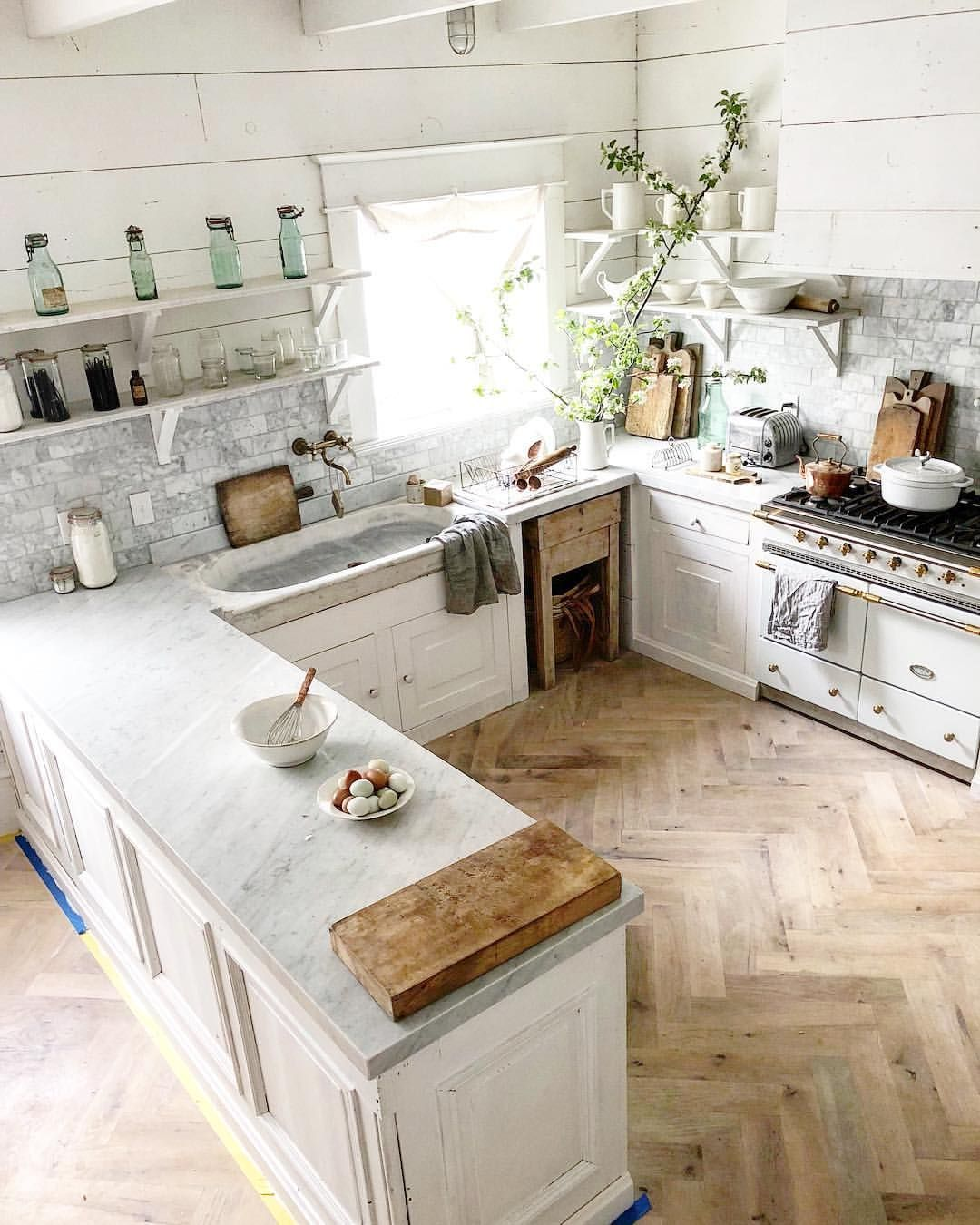 I Always Get Asked If I Regret Installing Honed Carrara Marble Countertops We Still Love Our Marble Countertops We Boug Home Kitchens Home Dream Kitchen,Black And White Wallpaper 4k For Mobile