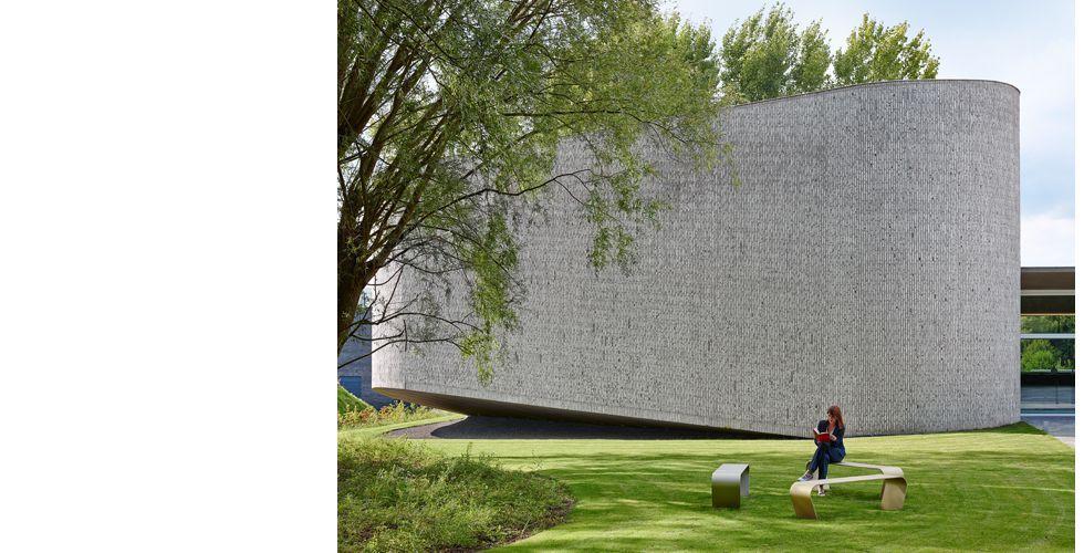 Auditorium | Kortrijk (Projecten) - Dehullu Architecten