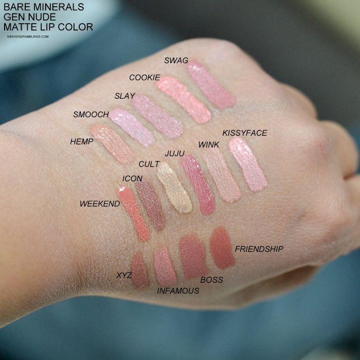 Gen Nude Liquid Lipstick by bareMinerals #12