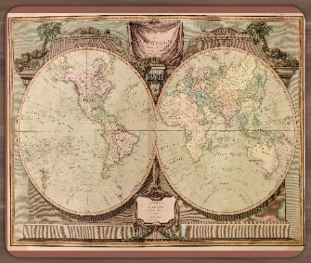 map quest maps globes in history art craft decor world map quest maps globes in history art craft decor gumiabroncs Images