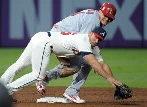 Braves unplug Cards offense in complete sweep