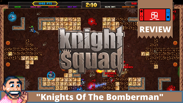 """Knight Squad Switch Review """"Knights Of Bomberman"""""""