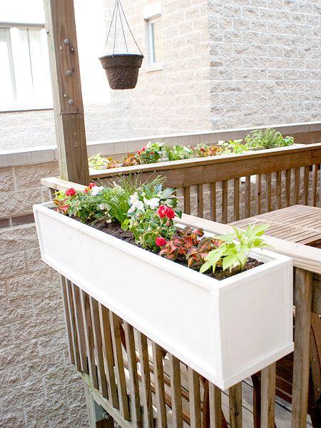 Boxed In Part 2 Diy Flower Boxes Diy Deck Deck Planters