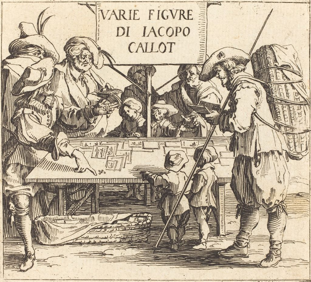 """Frontispiece for """"Varie Figure"""" 