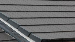 Duo Edgemere Interlocking Slate Tile Close Up Mood Board