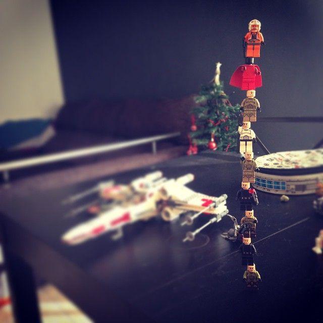 Pilar de nou #castallets #starwars #lego