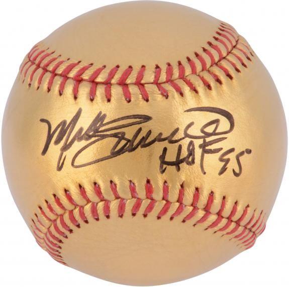 Mike Schmidt Philadelphia Phillies Autographed 24 Karat