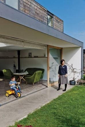 Beton binnen/buiten // modern house:
