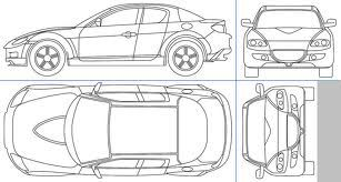 Car Top View Drawing Google Search Scale Figures Car Top View