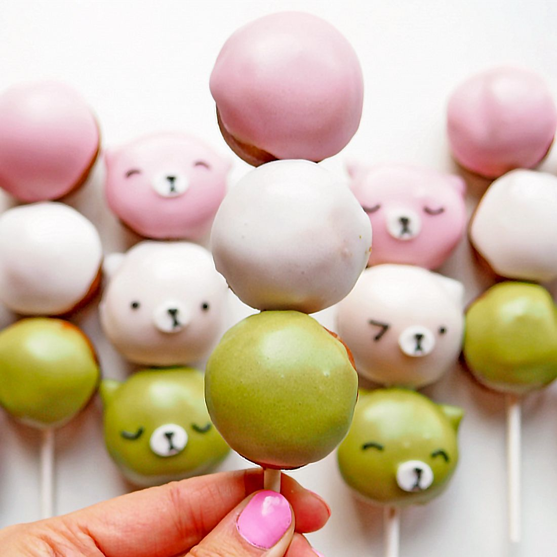 Learn How to Make These Unbearably Cute Dango Donut Holes