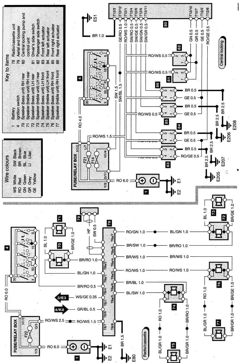 Resultado De Imagen De Diagrama Electrico Land Rover 74 Con