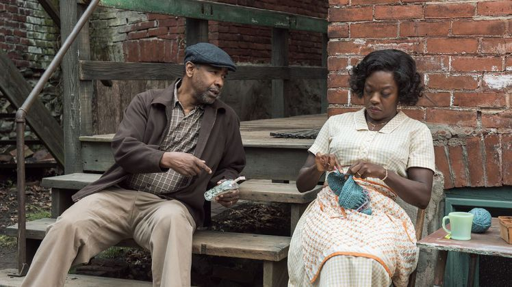 Fences flounders on big screen but is saved by Viola Davis and