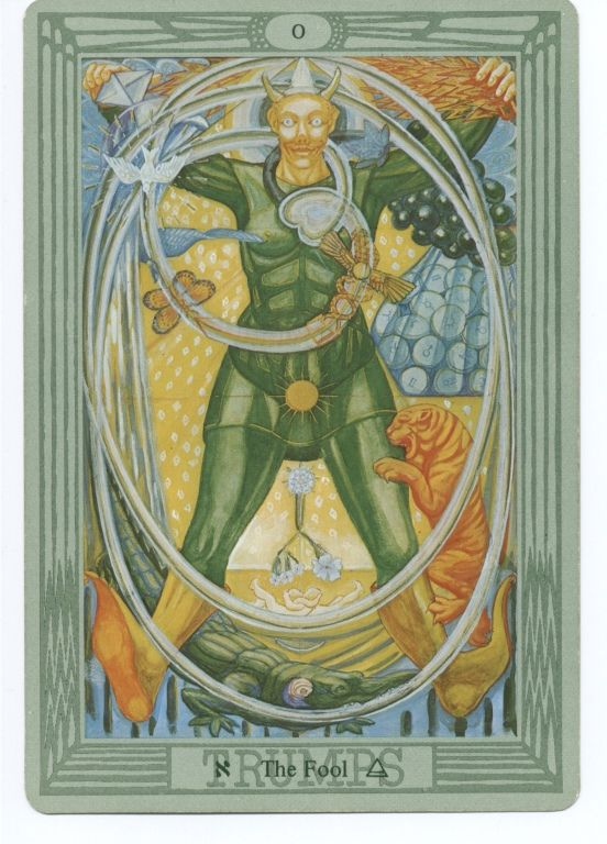 Thoth Death Tarot Card Tutorial: ALEISTER CROWLEY THOTH TAROT CARD DECK.